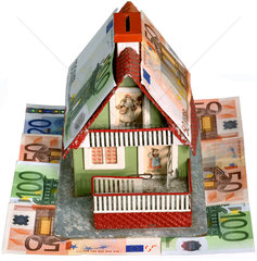 Symbolbild Haus  Hypothek