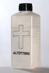 Weihwasserflasche aus Altoetting