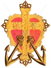 christliche Tugenden  Symbol  Glaube  Liebe  Hoffnung  1900