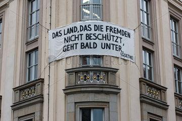 Leipzig  Deutschland  Leipzig gegen Fremdenhass