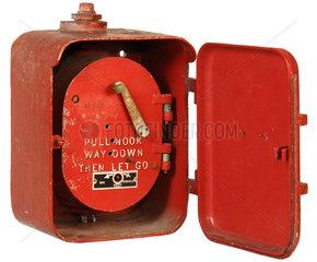 alter Feuermelder  USA 1931