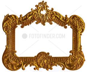 goldener Bilderrahmen  um 1898