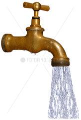 alter Wasserhahn  20er Jahre