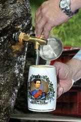 Bier einschenken  Bayern