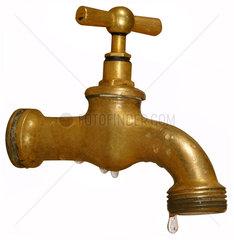 alter tropfender Wasserhahn  20er Jahre