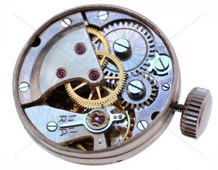 Uhrwerk  Schweizer Uhr  um 1956