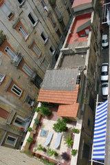 Neapel  Dachterrasse in der spanischen Viertels