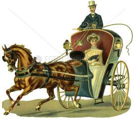 Taxi  Illustration  1876