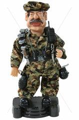 Saddam Hussein  Diktator  Spielzeugfigur  um 2003