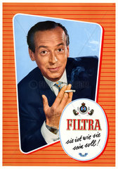 Zigarettenwerbung 1953