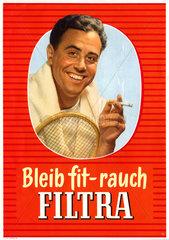Zigarettenwerbung 1955