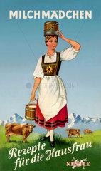 Werbung fuer Nestle Kondensmilch  1930
