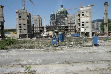 Abriss der Palast der Republik