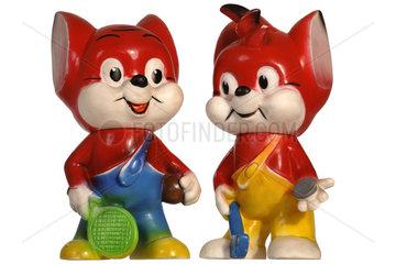 Fix und Foxi  Figuren  um 1970