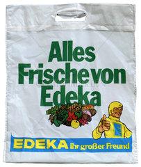 alte originale Plastiktuete von Edeka  um 1975