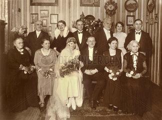 Hochzeitsfoto 1931