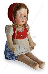 Rotkaeppchen  Puppe  um 1900