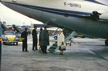 deutscher Flughafen  um 1960