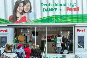 Bremen  Deutschland  Marketing-Aktion von Persil