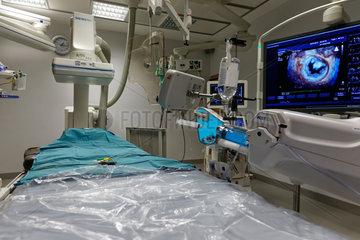 Berlin  Deutschland  Hybrid-Operationssaal des Vivantes Klinikum Am Urban