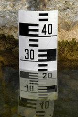 alter Wasserstandsanzeiger