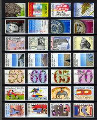 niederlaendische Briefmarken  Briefmarkensammlung