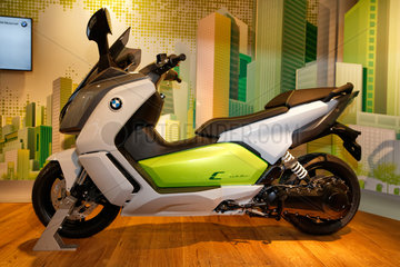 Berlin  Deutschland  BMW Elektro Scooter C evolution