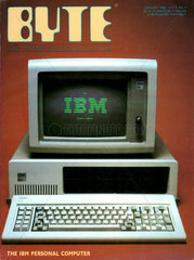 US-Computermagazin BYTE  erster IBM PC  1982