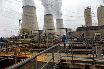 Jaenschwalde  Deutschland  Grubenwasseraufbereitung KW Jaenschwalde