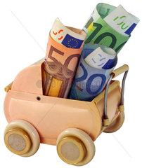 Kindergeld  Familienpolitik  Finanzierung  Symbol
