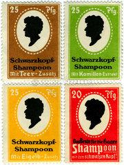 Werbung fuer Schwarzkopf Shampoo  um 1913