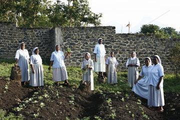 Schwestern St Vincent de Paul im Kriegsgebiet Goma