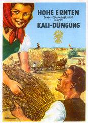 Werbung fuer Kali Duengung  um 1935