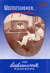 erster DDR Fernseher Modell Rembrandt  1953