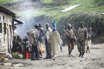 Bergpfarrei Nyakariba im Kriegsgebiet Goma
