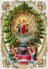 Weihnachtsbaum  Dekoration  1879