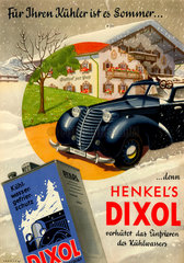 Kuehlwasserfrostschutz  Werbung  1948