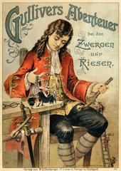Gullivers Abenteuer  Buchcover  1900