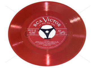 eine der ersten Single Schallplatten  USA 1949