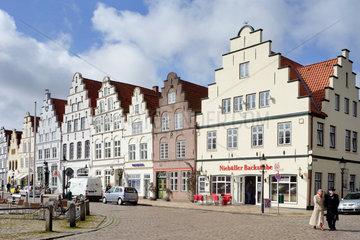 Friedrichstadt  Deutschland  historische Haeuserzeile
