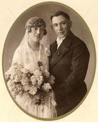 Hochzeitsfoto  um 1913