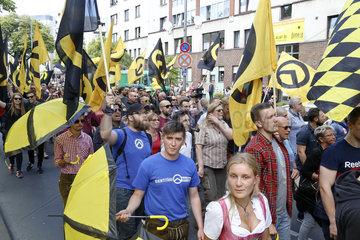 Demo der Identitaeren Bewegung