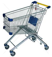 leerer Einkaufswagen