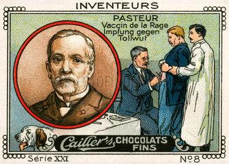 Erfinder und Entdecker Louis Pasteur  Tollwut Impfung