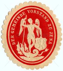 Siegelmarke Jena  um 1890
