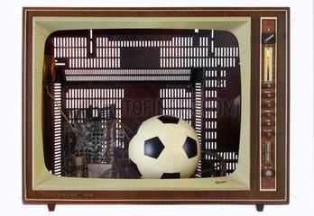 Fussball im Fernsehen  Symbol