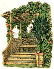 Gartenlaube  um 1910