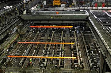 Deutschland  Nordrhein-Westfalen- Huettenwerk Krupp Mannesmann in Duisburg