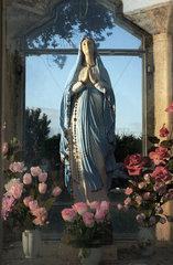 alte Muttergottes Statue  Italien
