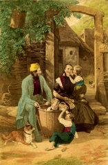 Familie  um 1860